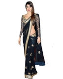 Designer Black Saree by Priyanka