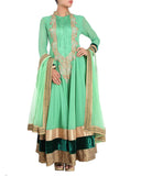 Sea Green Anarkali Suit
