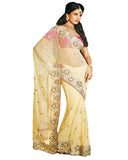 Designer off White Saree