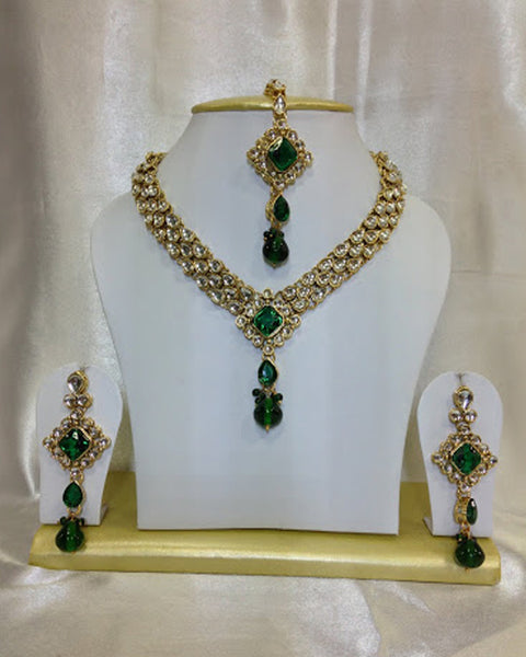 Kundan Golden Necklace