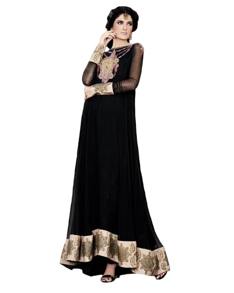Black Floor Length Dress