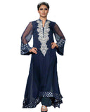 Pakistani Blue Designer Suit