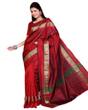 Red Color Kanchivaram Silk Sari
