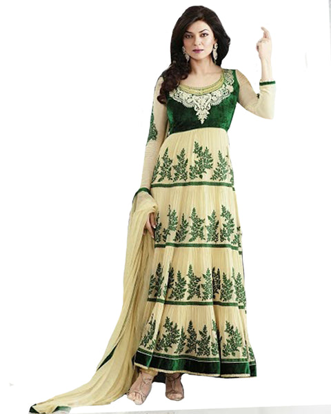 Designer Anarkali Suit By Sushmita
