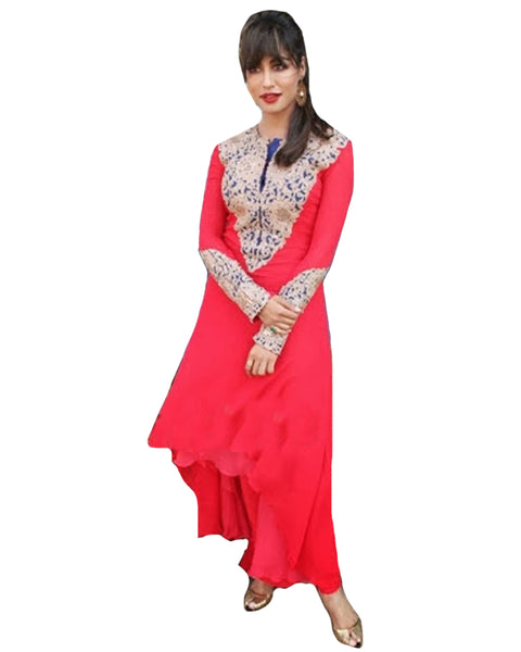 Red Suit By Chitrangada