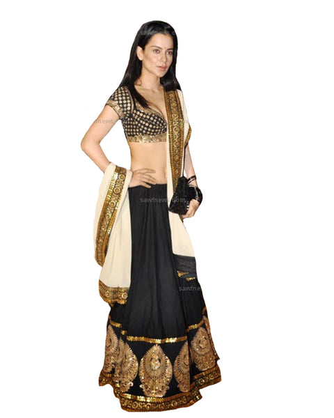 Bollywood Bhagal Puri Silk Lehenga