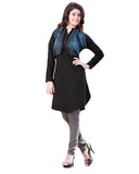 Woolen Black Color Kurti