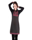 Woolen Grey Color Kurti