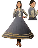 Short Anarkali Jacket Suit
