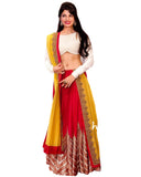 Bollywood Red & Yellow Color Lehenga