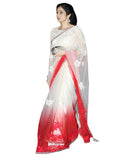 Bollywood Shree Devi White/Red Saree