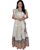 Bollywood Shri Devi White Lehenga