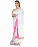 Bollywood Kajol in Off White Color Saree
