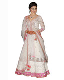 Bollywood Genelia in Off White Color Anarkali