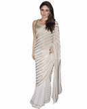 Bollywood Kareena Kapoor Off White Color Saree