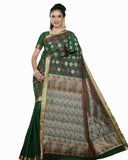 Green Leaf Color Dharmavaram Saree