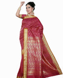 Red Color Dharmavaram Saree