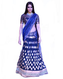 Bollywood Bipasa Basu Dark Blue Color Lehenga