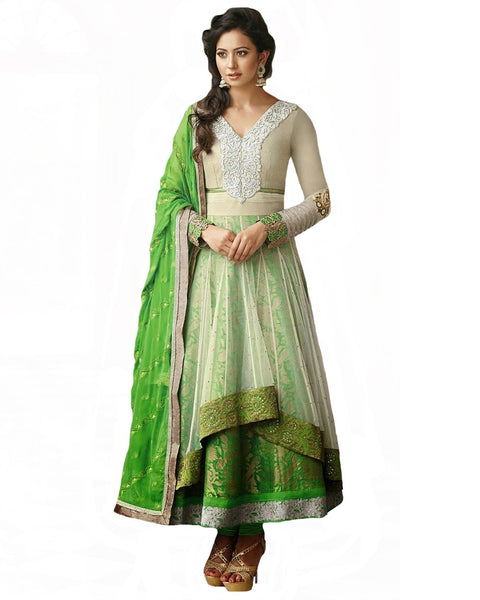 Designer Green Color Pakistani Suit