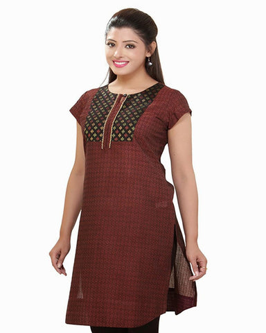 Trendy Look Chocolate Kurti
