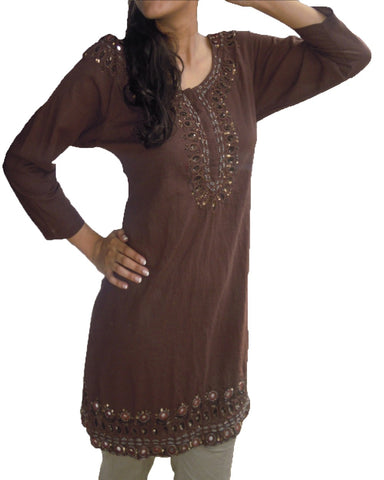 Trendy Look Brown Kurti
