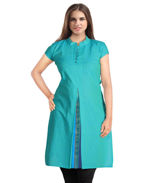 Trendy Look Blue Kurti