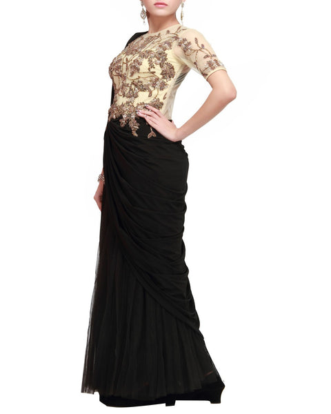 Designer Party Saree Gown