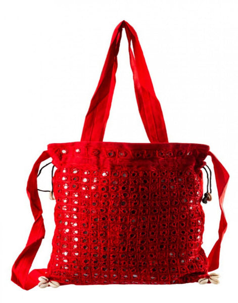 Traditional Red Color Bag