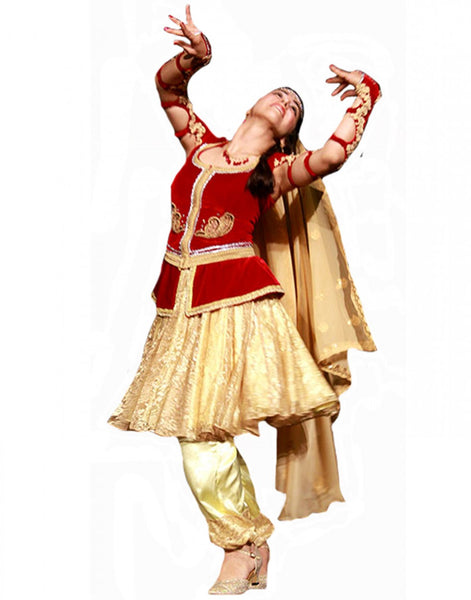 Golden/Red Dance Costume