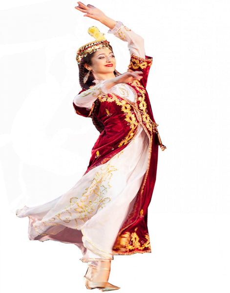 White/Red Dance Costume