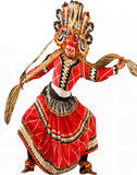 Red Color Dance Costume
