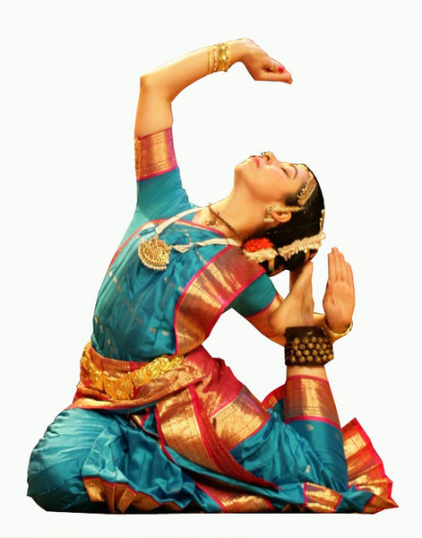 Kuchipudi Blue Dance Costume