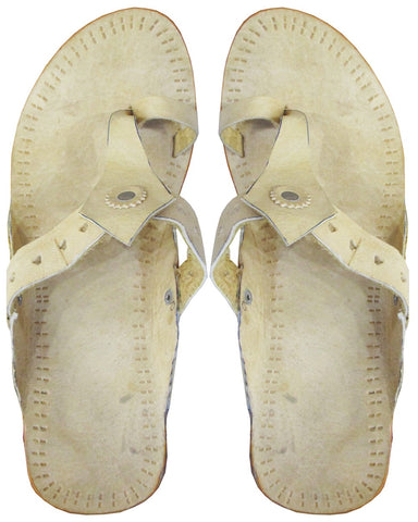 Designer Leather Chappal