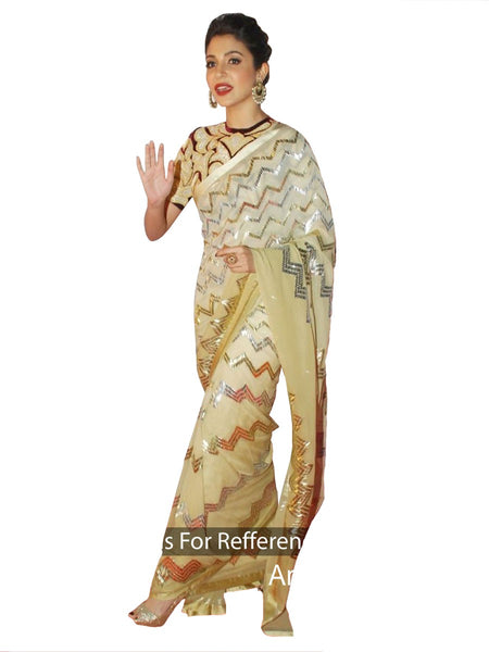 Anushka Sharma Designer Silk Saree