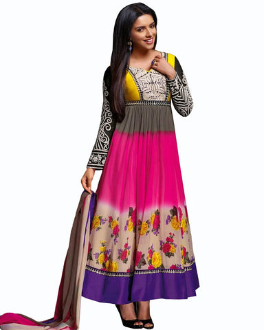 Asin Multy Color Designer Suit