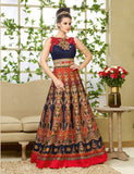 Multi color Designer Gown