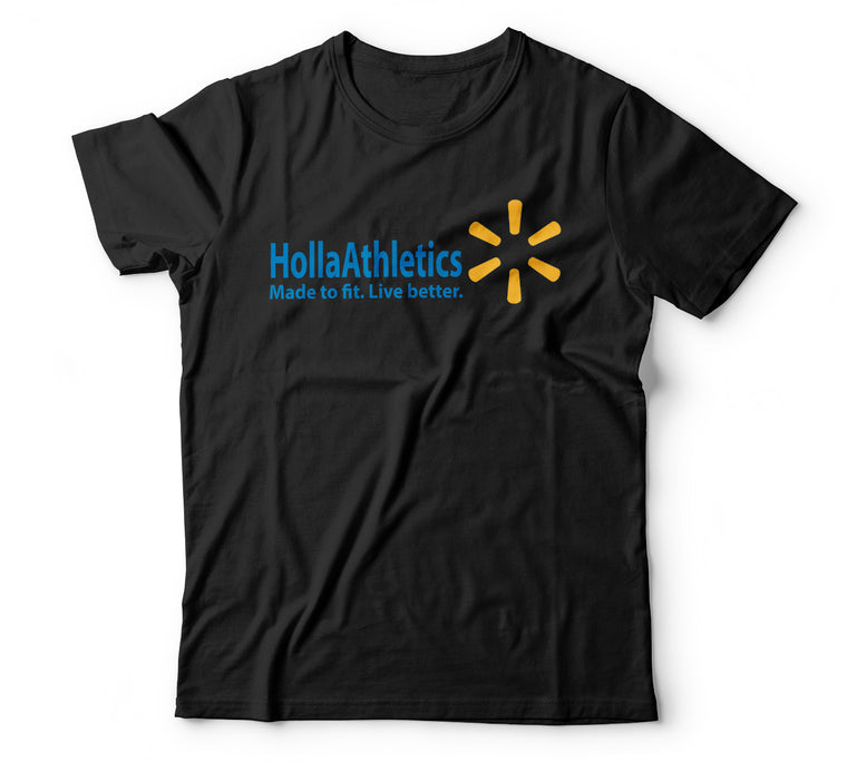 Holla-Walmart BLACK