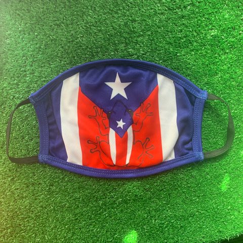 Puerto Rico Frog Mask