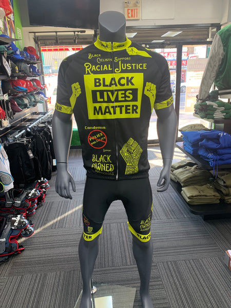 Black Lives Matter Complete Cycling Kit