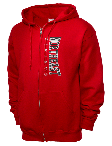 Fleece Full-Zip Hood