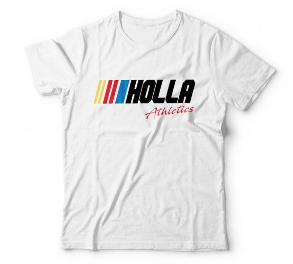 Holla-NASCAR WHITE
