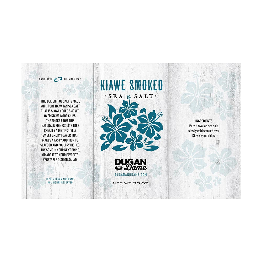 Dugan and Dame Kiawe Smoked Salt
