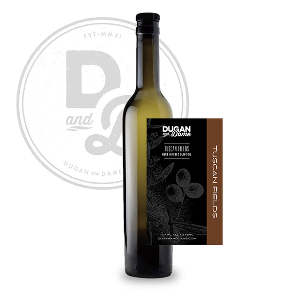 Tuscan Fields Herb Infused Olive Oil - 375ml