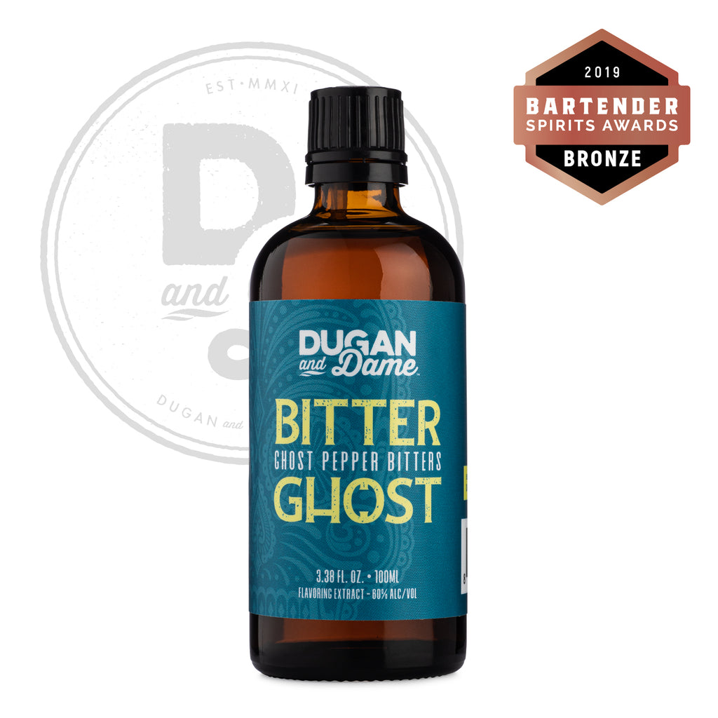 Dugan and Dame Bitter Ghost Ghost Pepper Bitters