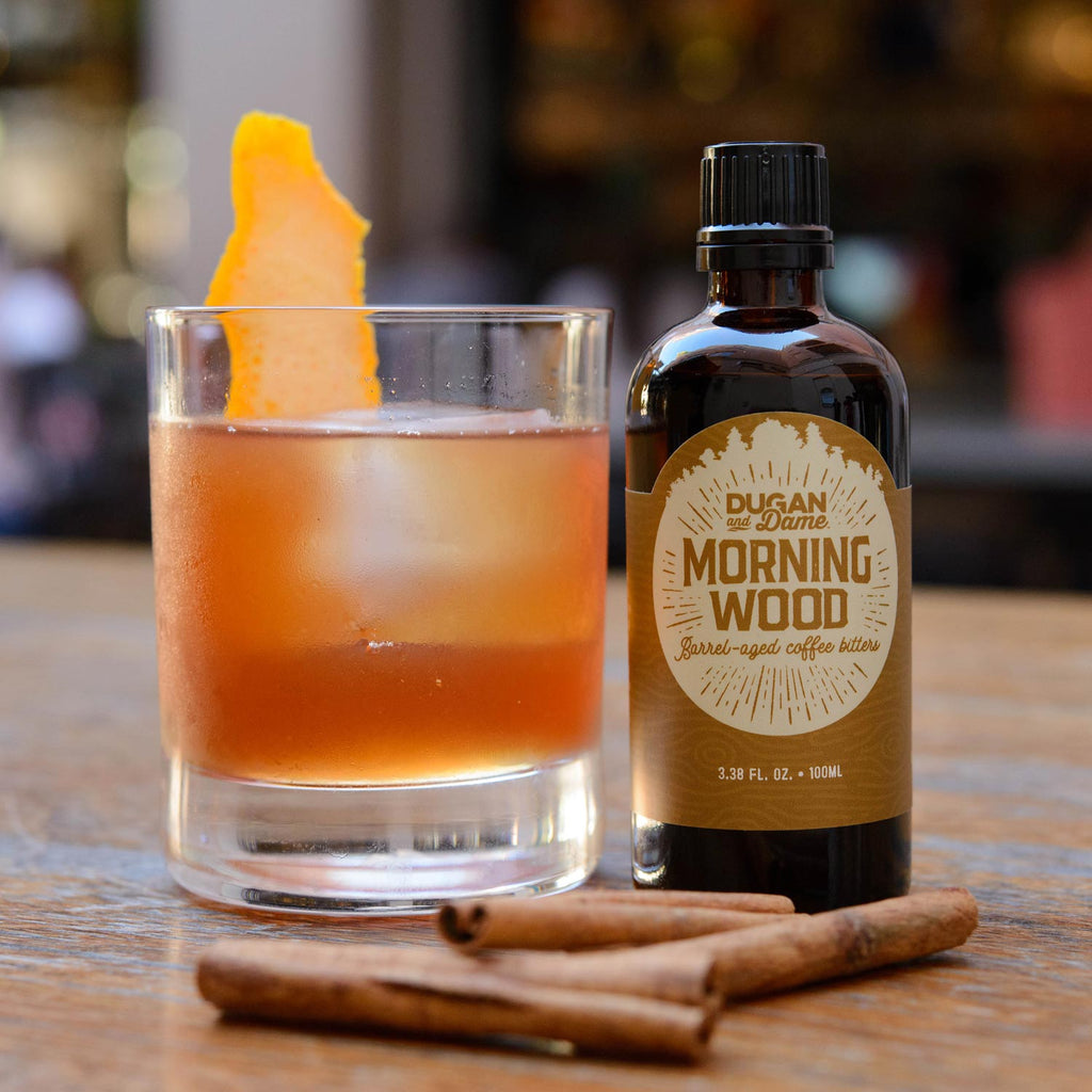 Dugan and Dame Morning Wood Cocktail Bitters Lifestyle
