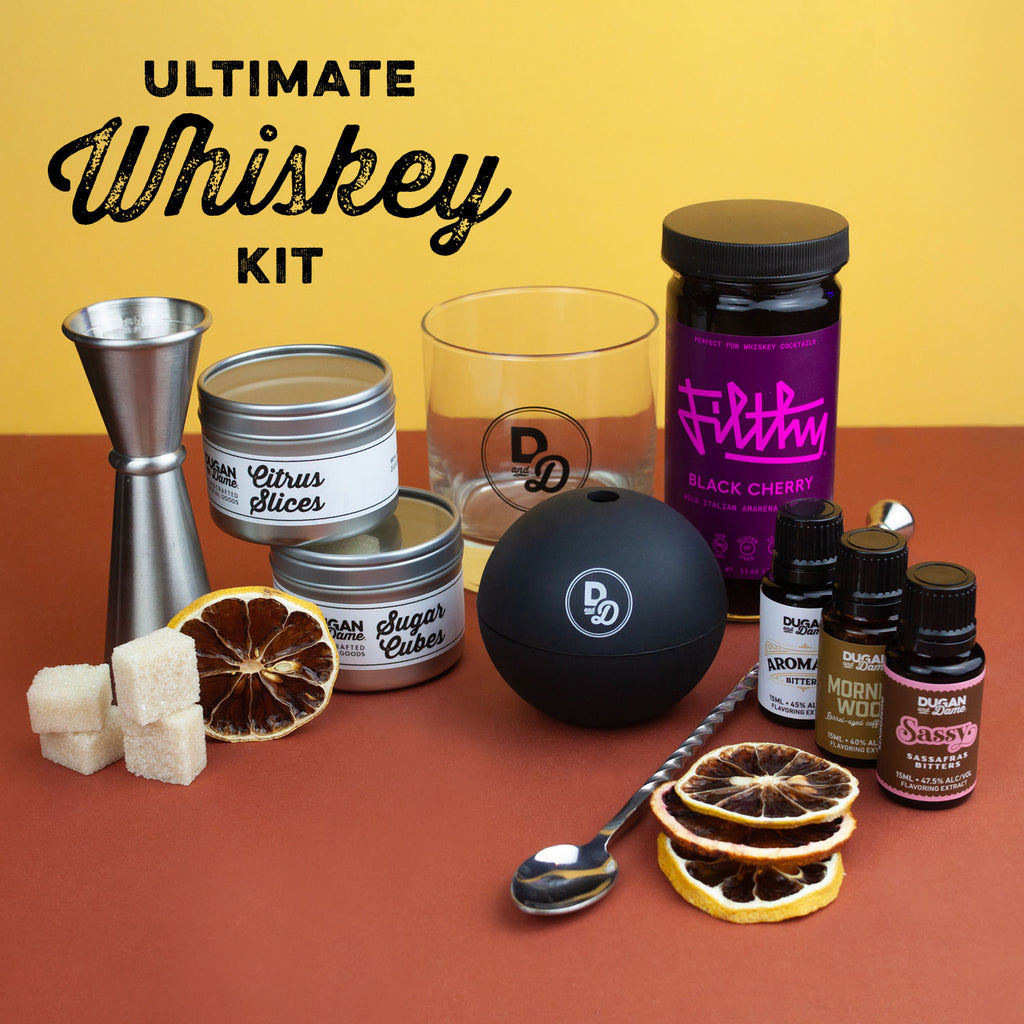 Ultimate Whiskey Cocktail Gift Set