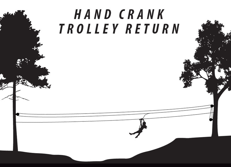 Hand Crank Trolley Return