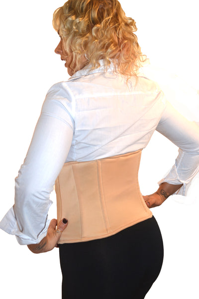 CORSET HOLSTER - NUDE