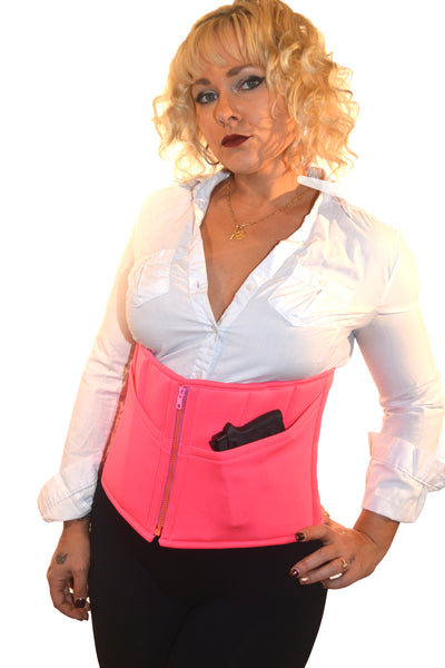 CORSET HOLSTER - PINK