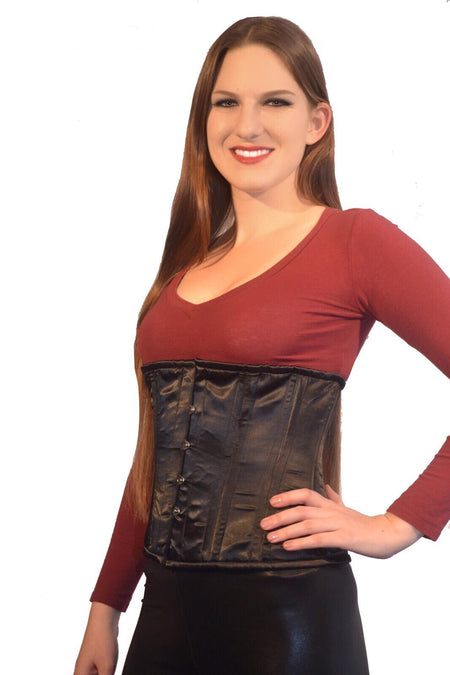 UNDERBUST SATIN W/ DEEP POINT